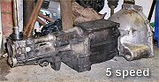5 speed gearbox - Click to enlarge